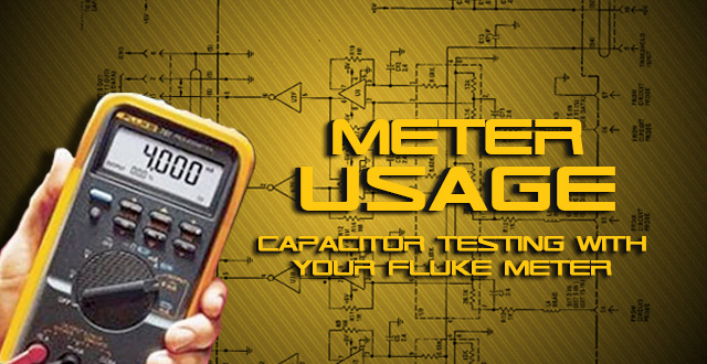 Tip Clip Capacitor Testing With Your Fluke Meter Avi
