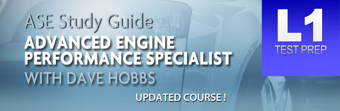 ase l1 advanced performance engine specialist course updated