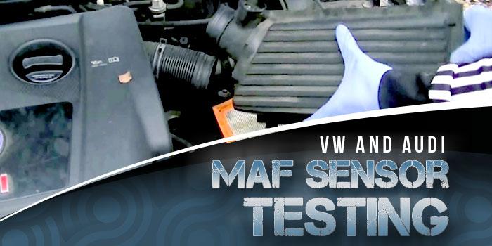 MAF Testing, Audi, VM
