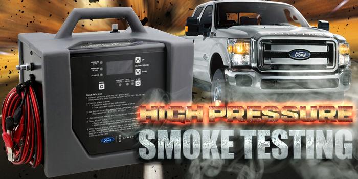 Smoke Machine, Ford, Tech Tip, Ron Bilyeu