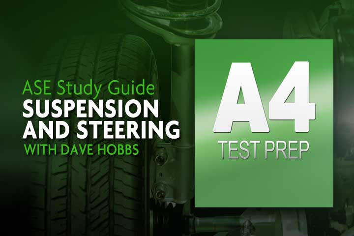 ASE A4 Practice Test - Steering & Suspension Certification