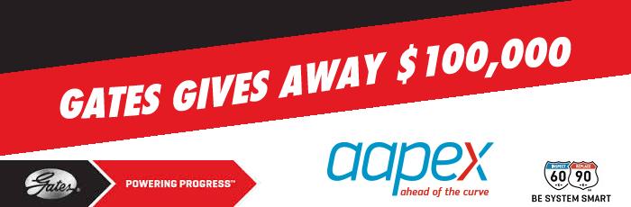 AAPEX 2015, Gates