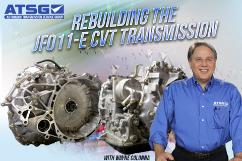 LBT-304 ATSG: JF011-E Continuously Variable Transmission Disassembly and  Reassembly
