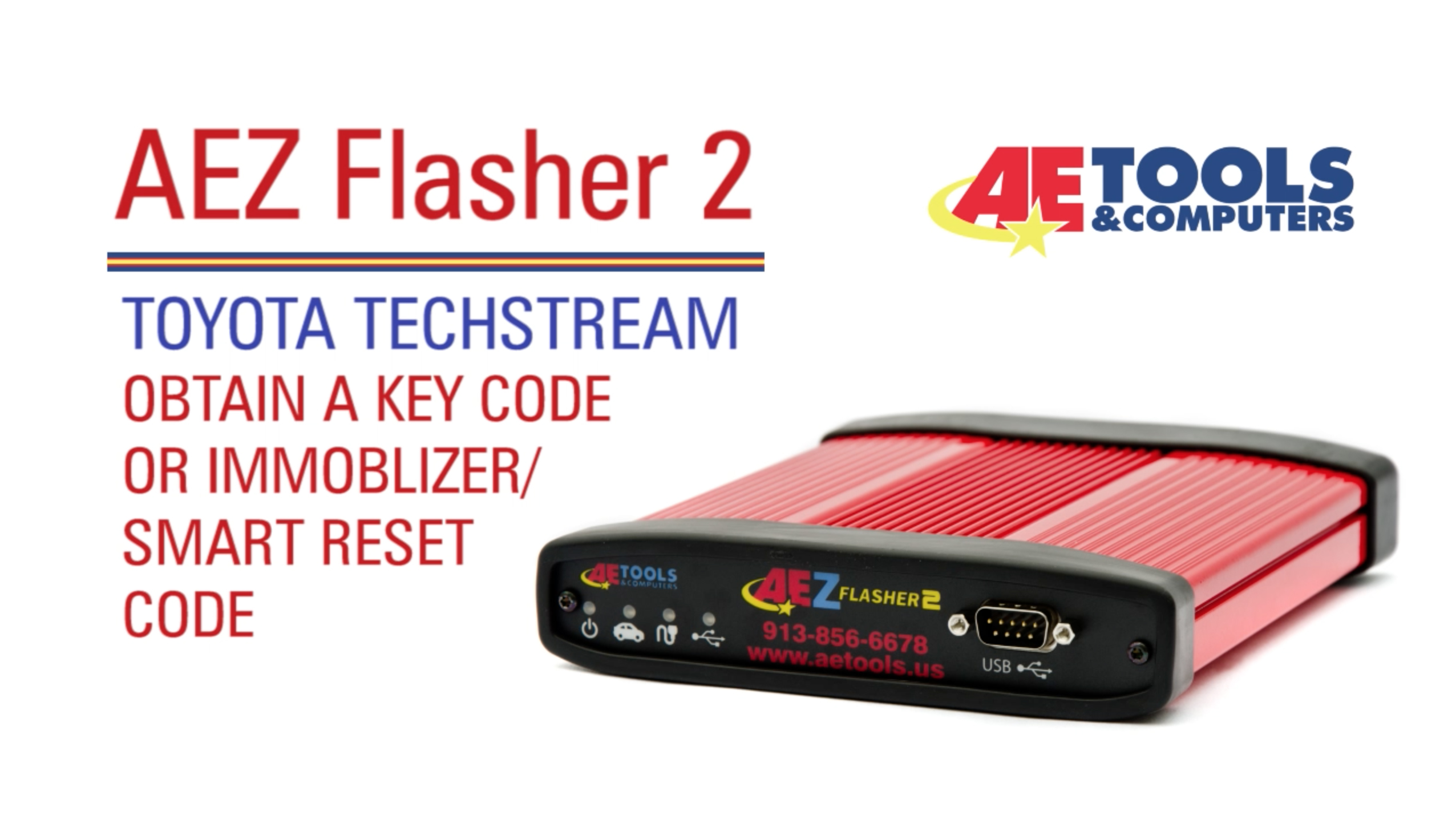 AET-037_AEZ FLasher 2: Toyota Techstream – Obtain a Key Code or Immoblizer  / Smart Reset Code