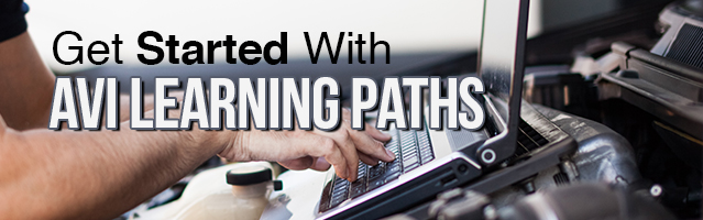AVI Learning Path, automotive training