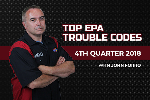 Top EPA Trouble Codes