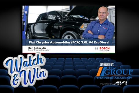 LBT-380 Bosch Fiat Chrysler Automobiles (FCA) 3.0L V6 EcoDiesel