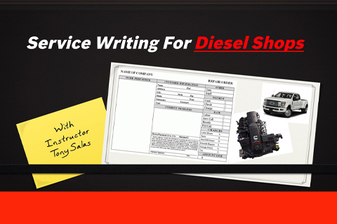 LBT-379 Service Writing For Diesel Shops
