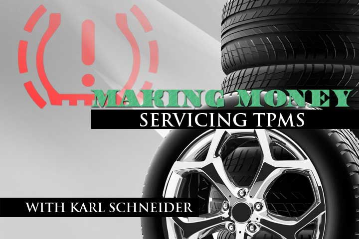 Making Money Servicing TPMS